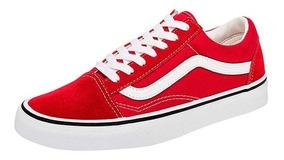 2vans rojos mujer