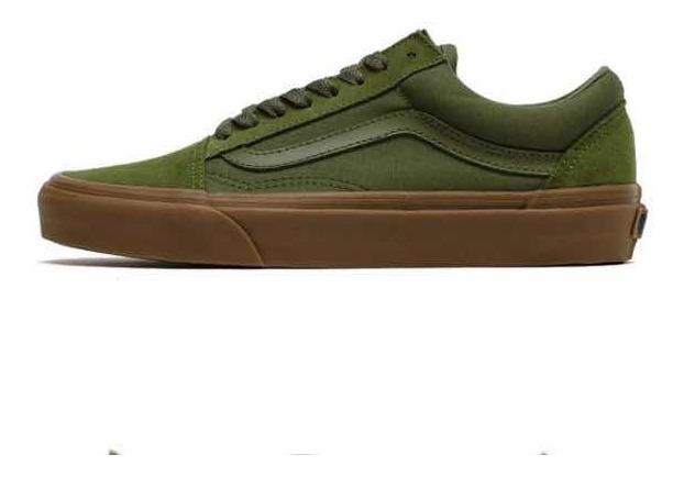 vans verde militar