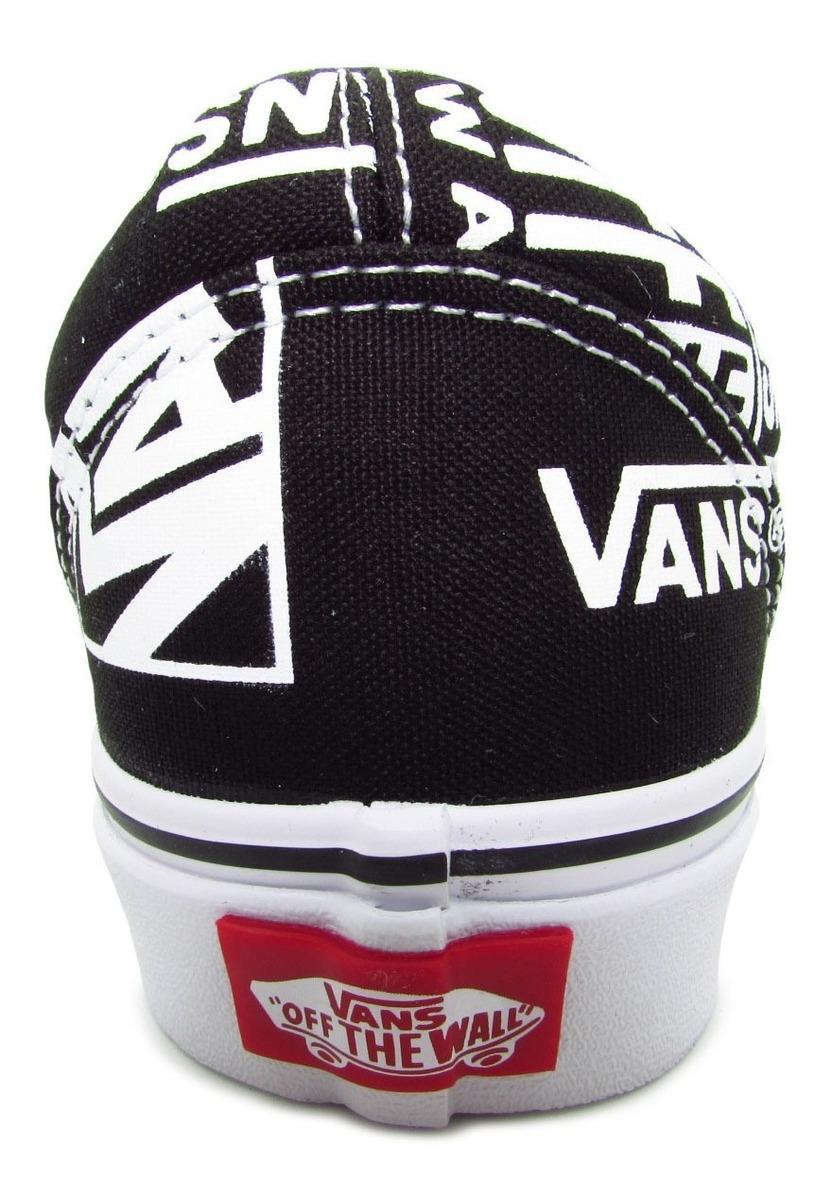 vans old skool mujer negro mix logo