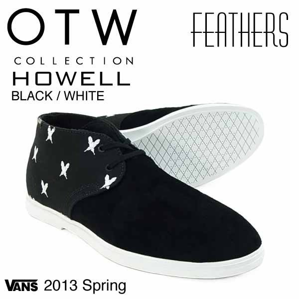 59a37f8e13 Tenis Vans Otw Collection Howell Black white Vn-0okw7jh -   1