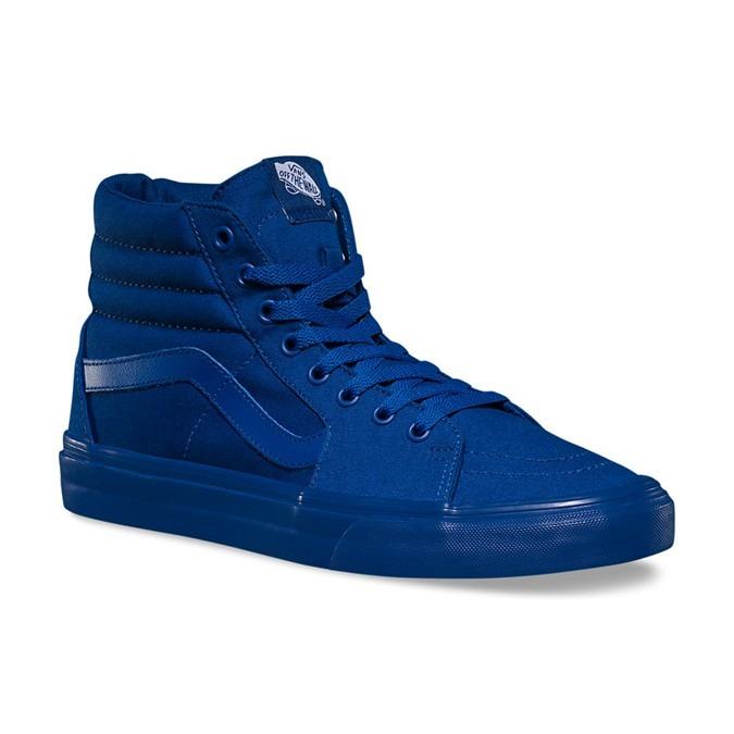vans sk8 hi azul