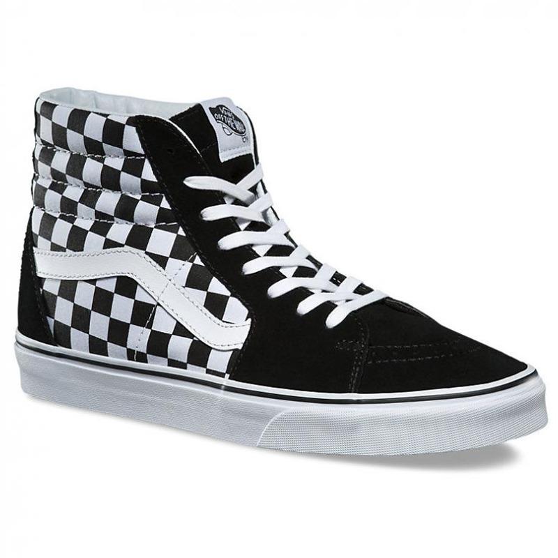 8b5031dcc02 tenis vans sk8 hi checker bota negro blanco cuadros gamuza. Cargando zoom.