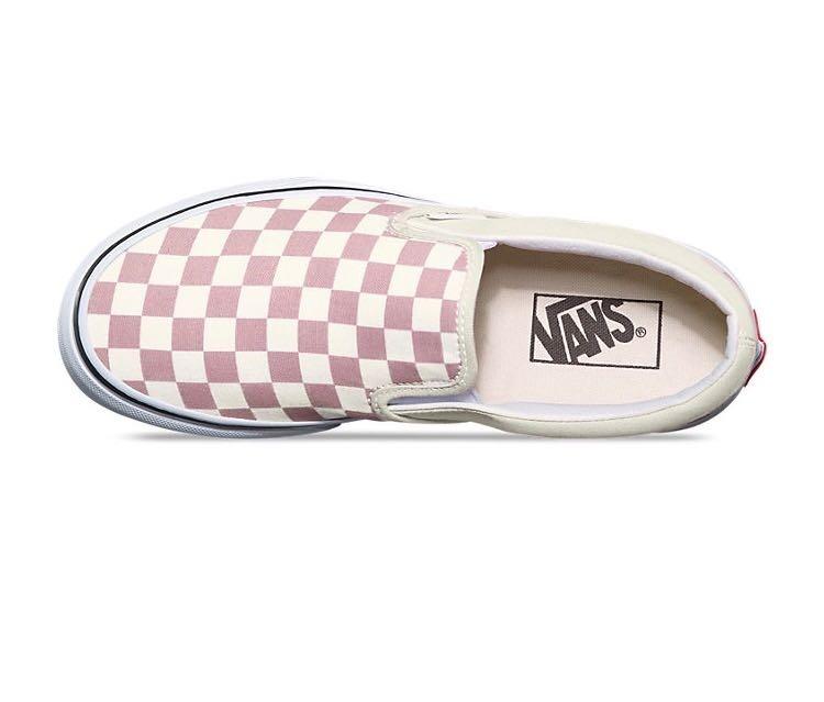 5305d049cd Tenis Vans Slip On Checkerboard Zephyr pink -   1