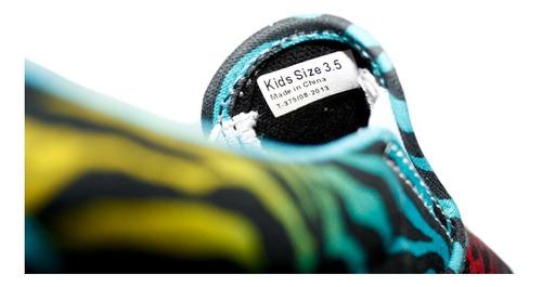 tenis vans slip on colores animal print 23 - 23.5 cm nuevos