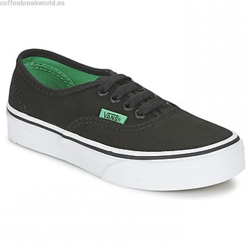 vans Negro verde
