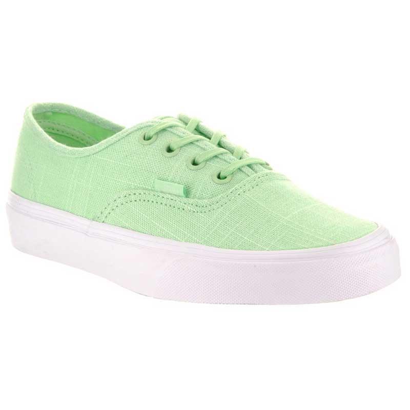 vans verde claro