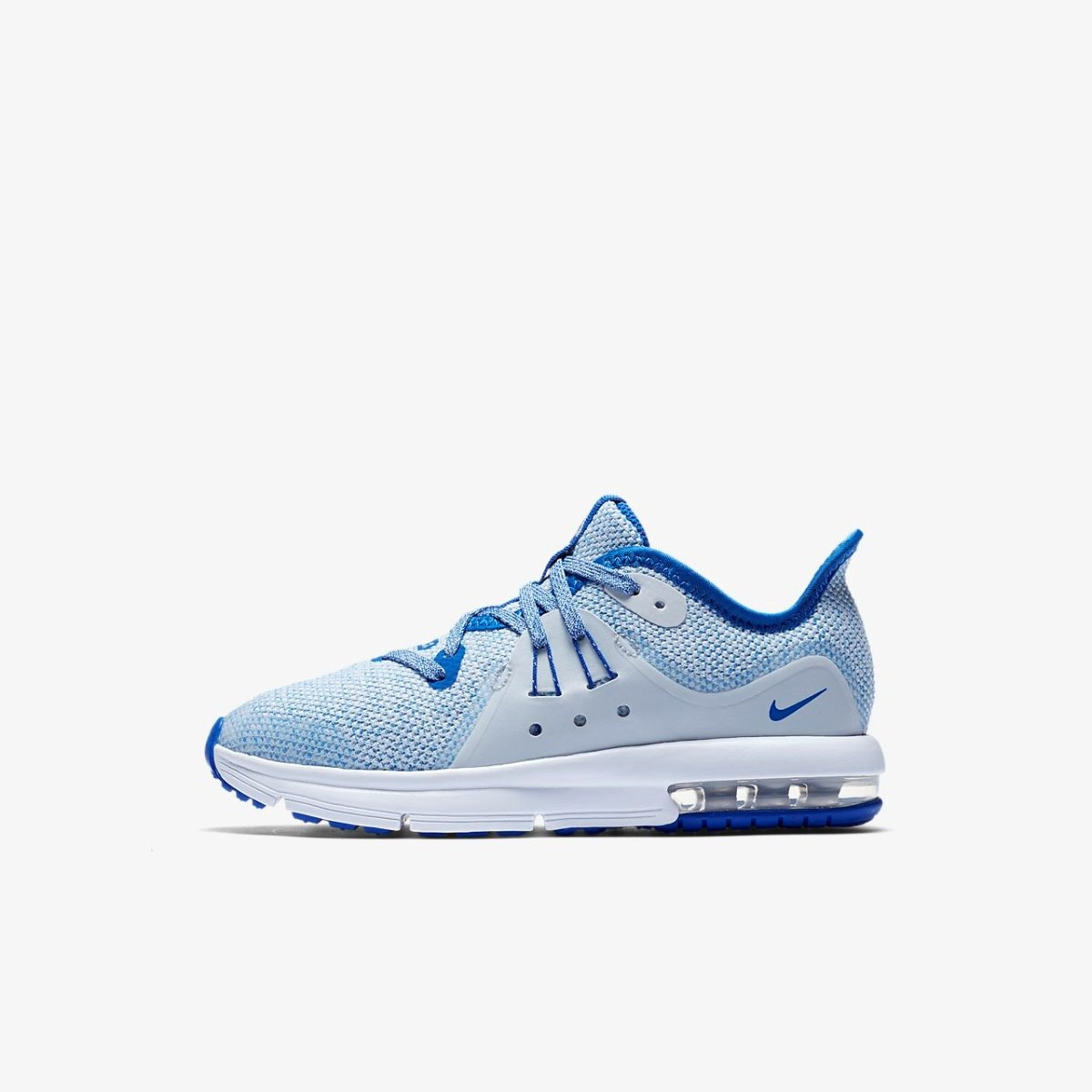 a96821ee76 Tenis W Nike Air Max Sequent 3 Azul Talla #4 Originales - $ 1,398.00 ...