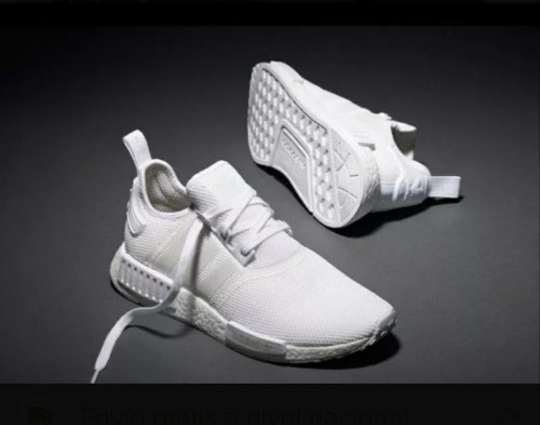 2zapatillas adidas hombre blancas nmd