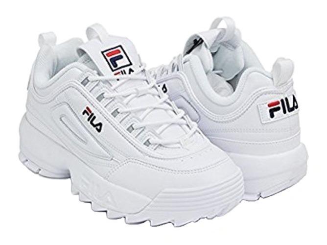 Tenis Zapatilla Fila Disruptor Ii - Blanco Mujer -   179.900 en ... f4506380c42