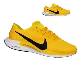 zapatillas nike hombres amarillas