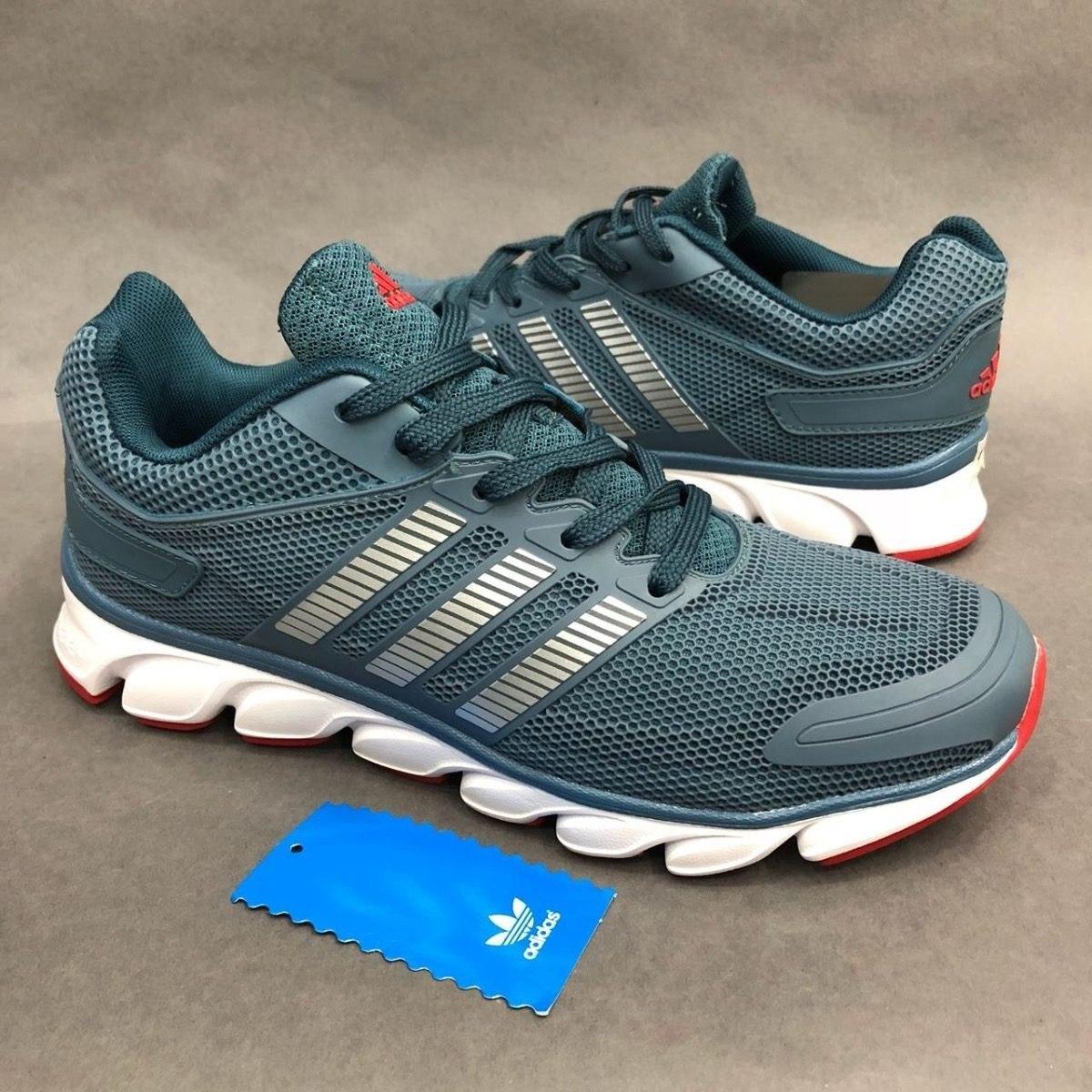 newest 24b82 bf1b2 ... france tenis zapatillas adidas climacool ride gris azul hombre.  cargando zoom. 6d3de 58c88