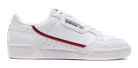 Tenis Zapatillas adidas Continental 80 Blanca Mujer Env Gra
