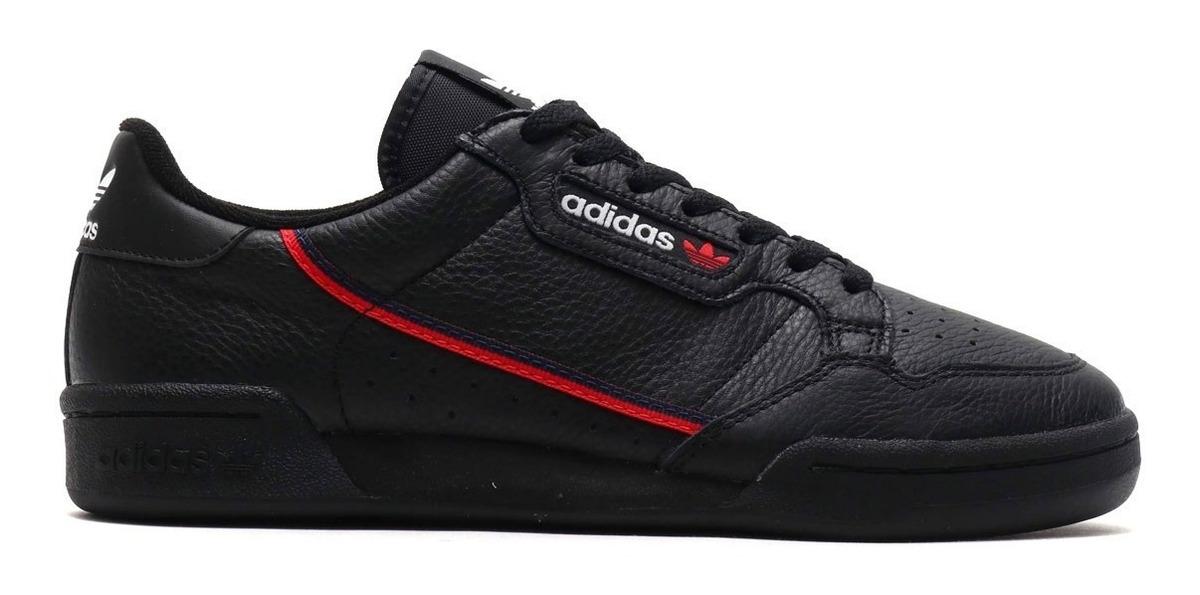 Tenis Zapatillas adidas Continental 80 Negra Hombre Env Gra