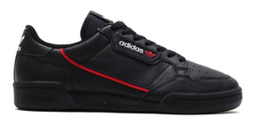 Tenis Zapatillas adidas Continental 80 Negra Mujer Env Gra