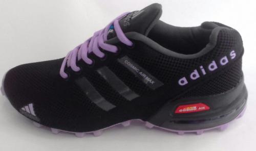 tenis zapatillas adidas cosmic air max para dama