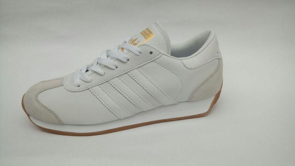 Blanca Envio Country Tenis Zapatillas Hombre Gratis Adidas