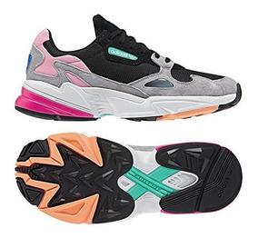 Tenis Gra Adidas Mujer Colores Zapatillas Env Falcon Negra bvY76gyfI