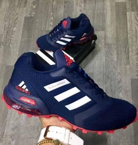 1fc3bd7b9f480 Tenis Zapatillas adidas Fashion Air Max Azul Rojo Hombre -   149.900 ...