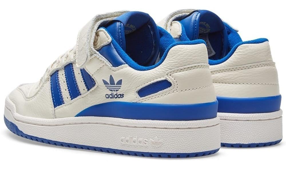 Zapatillas bajas Hombre | adidas Forum Lo Calzado Blanco Azul ⋆ Flaming Cows