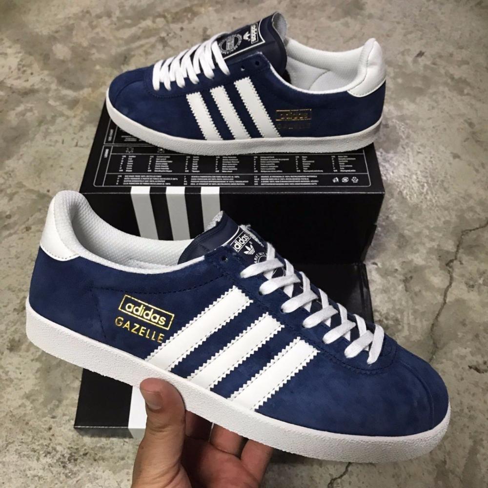save off a4271 94008 tenis zapatillas adidas gazelle azul blanca dama 2018. Cargando zoom.