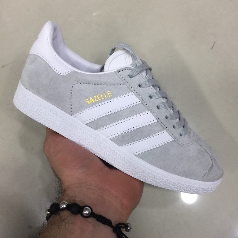zapatillas adidas gazelle griss