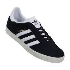zapatillas negras adidas mujer gazelle