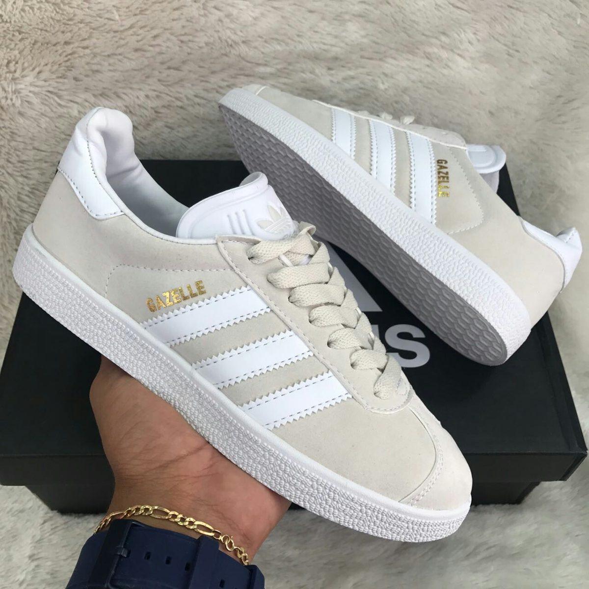 zapatillas adidas gazelle beige