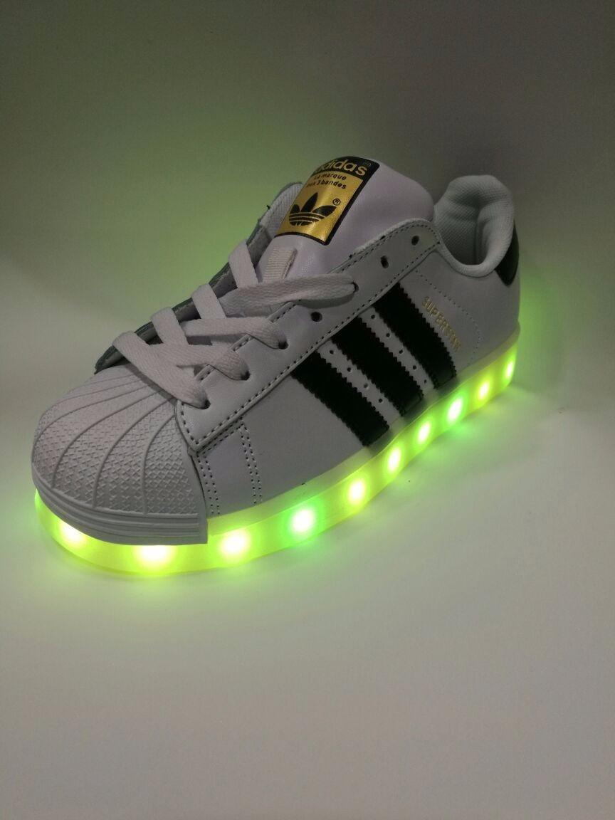 bambas adidas con luces