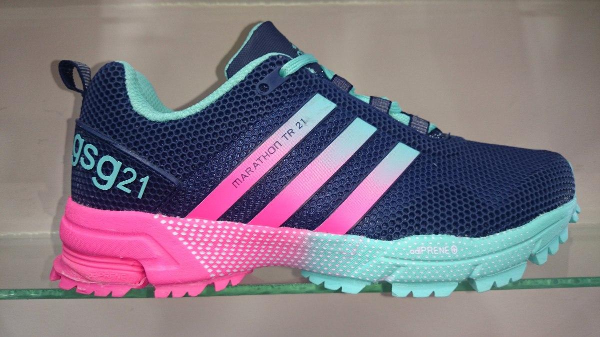 Zapatillas 21 Adidas Tenis Marathon Mujer sQthrdC