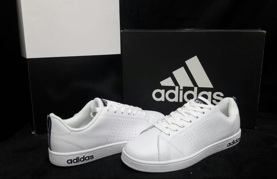 zapatillas adidas neo blancas hombre