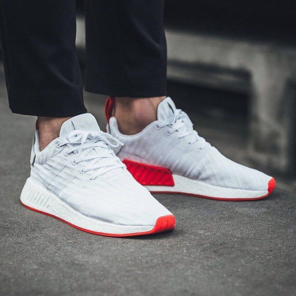 zapatillas adidas hombres rojas