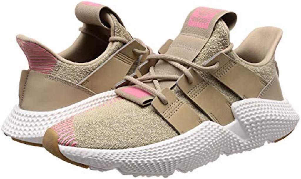Tenis Zapatillas adidas Prophere 2018 Beige Rosada Mujer