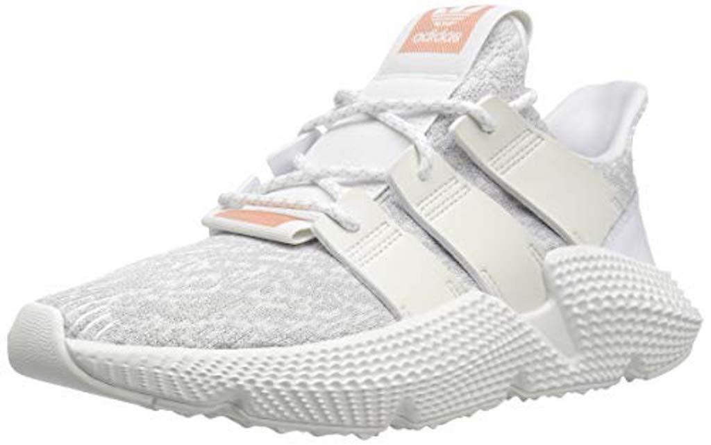 Tenis Zapatillas adidas Prophere 2018 Blanca Rosada Mujer