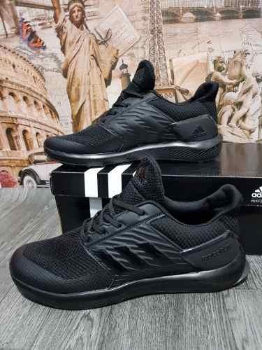 zapatillas de hombre negras adidas