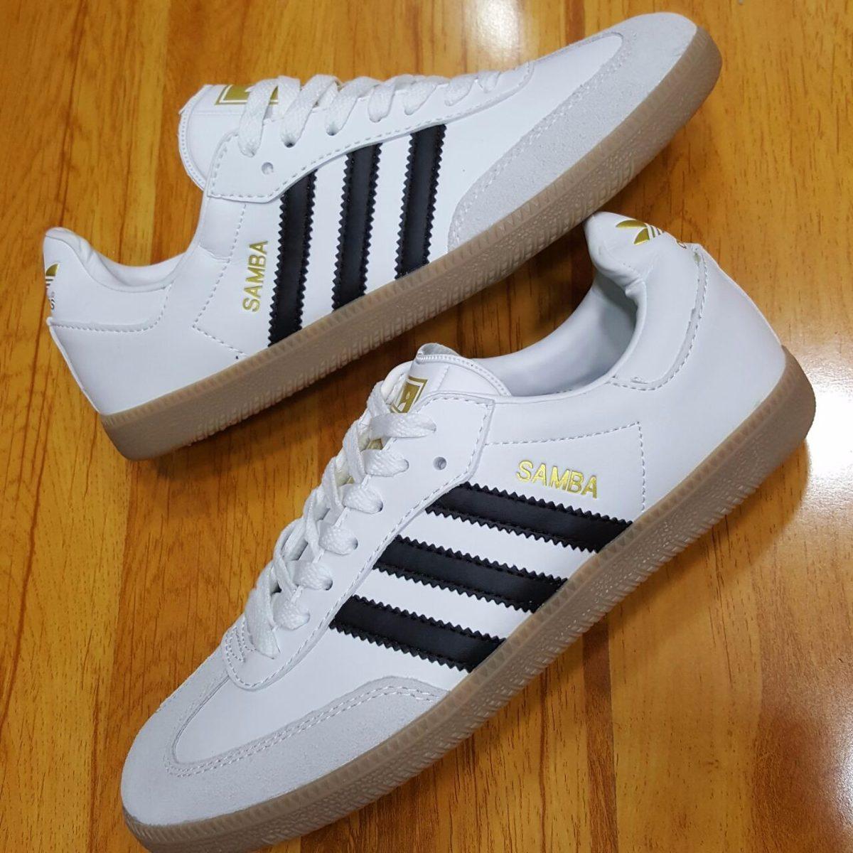 Zapatos blancos Adidas Samba para hombre m0dWSv9Z