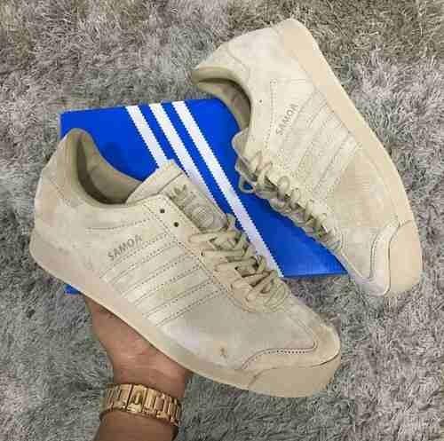best service 984ed 28e07 Adidas Dama Zapatillas Gratis Hombre Tenis Beige Envio Samoa W8ogqeh8 OEwSp6