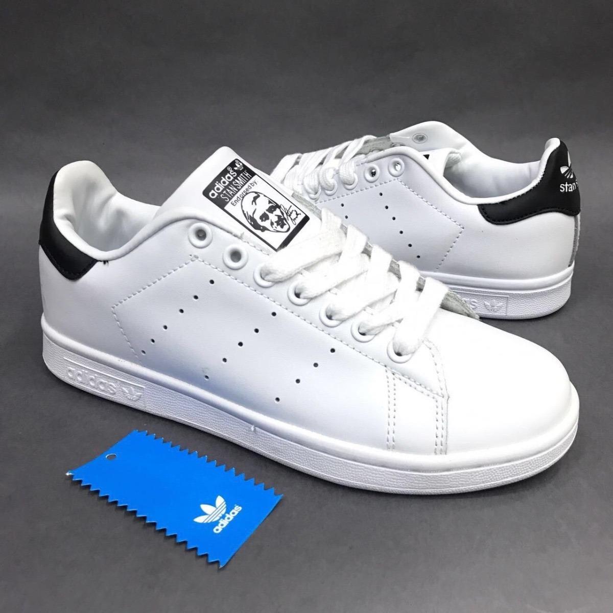 reputable site d86f0 39e3a adidas stan smith blancas y negras