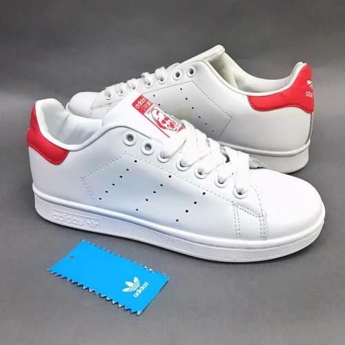 Tenis Zapatillas adidas Stan Smith Roja Dama Envio Gratis