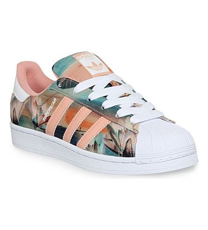 adidas flores mujer