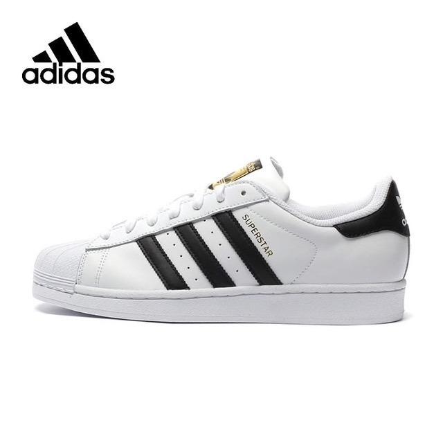 cc62e2bef75 Tenis Zapatillas adidas Superstar Blanca Negra Hombre -   134.900 en ...