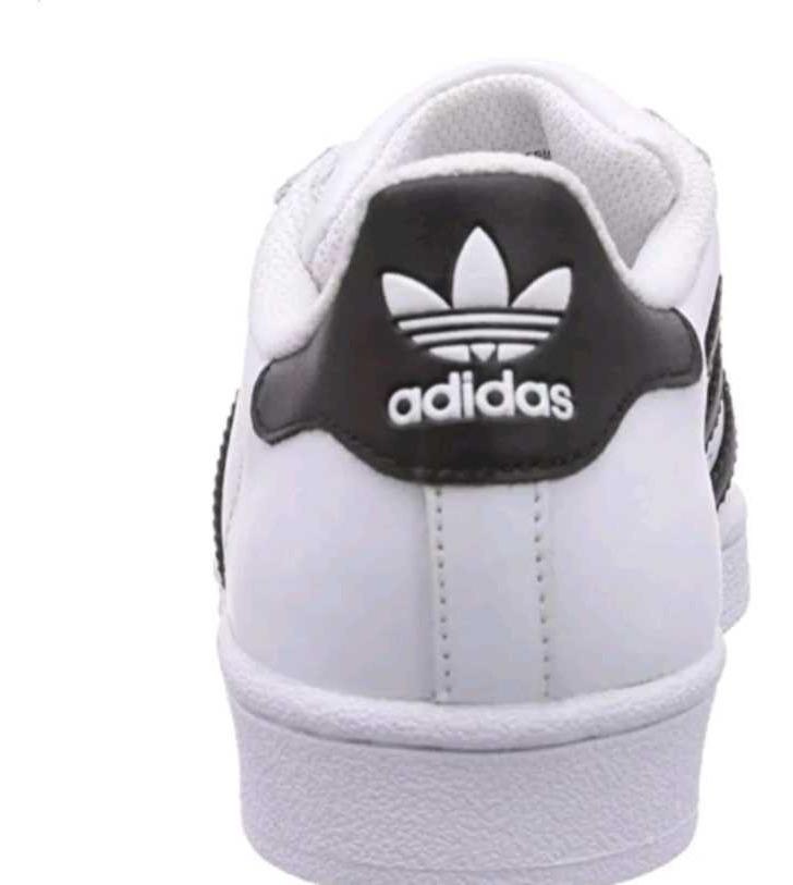 Tenis Zapatillas adidas Superstar Blanca Negra Mujer Env Gra