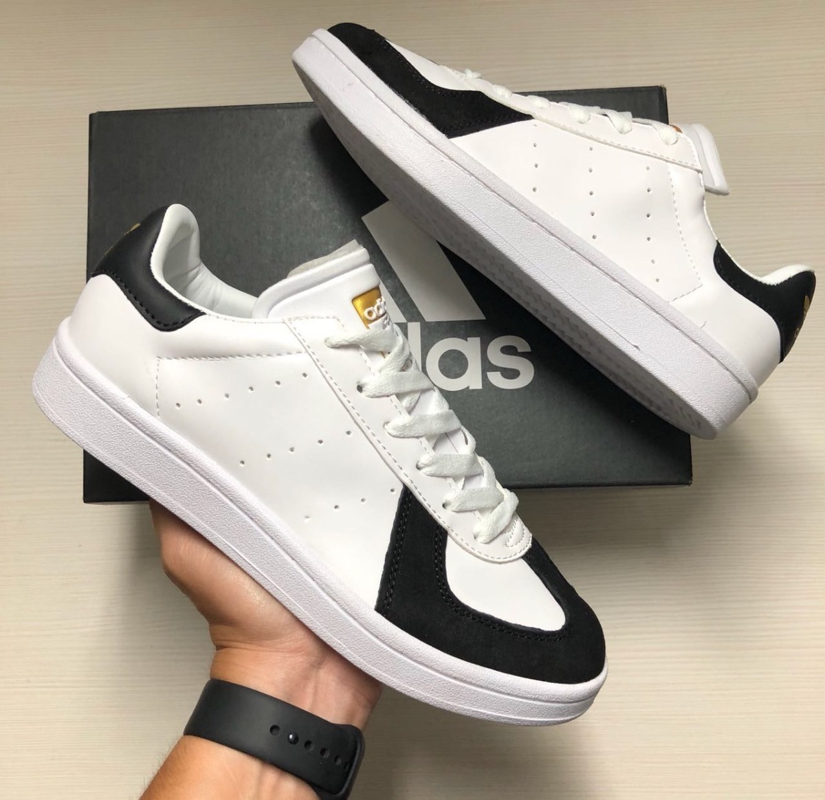 Tenis Zapatillas adidas Tabla Blanca Verde Env Gr -   144.900 en ... 982c42493759c