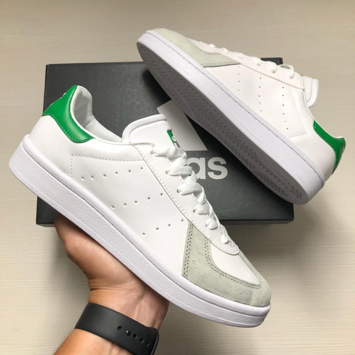 Tenis Zapatillas adidas Tabla Blanca Verde Hombre Env Gr -   144.900 ... 969d57906ac70