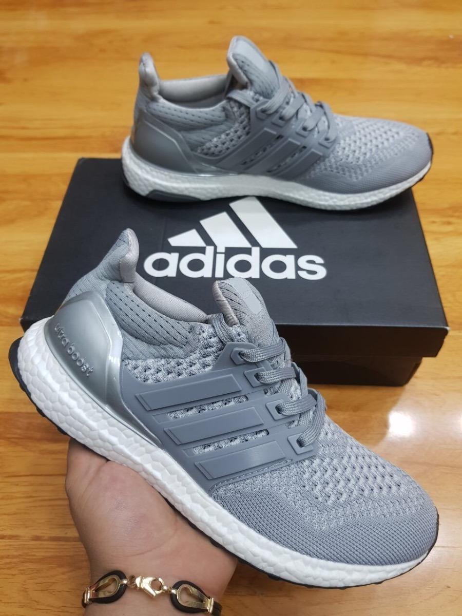 1e0e5ca62bf15 ... where to buy tenis zapatillas adidas ultra boost hombre gris blanca. cargando  zoom. d95e3