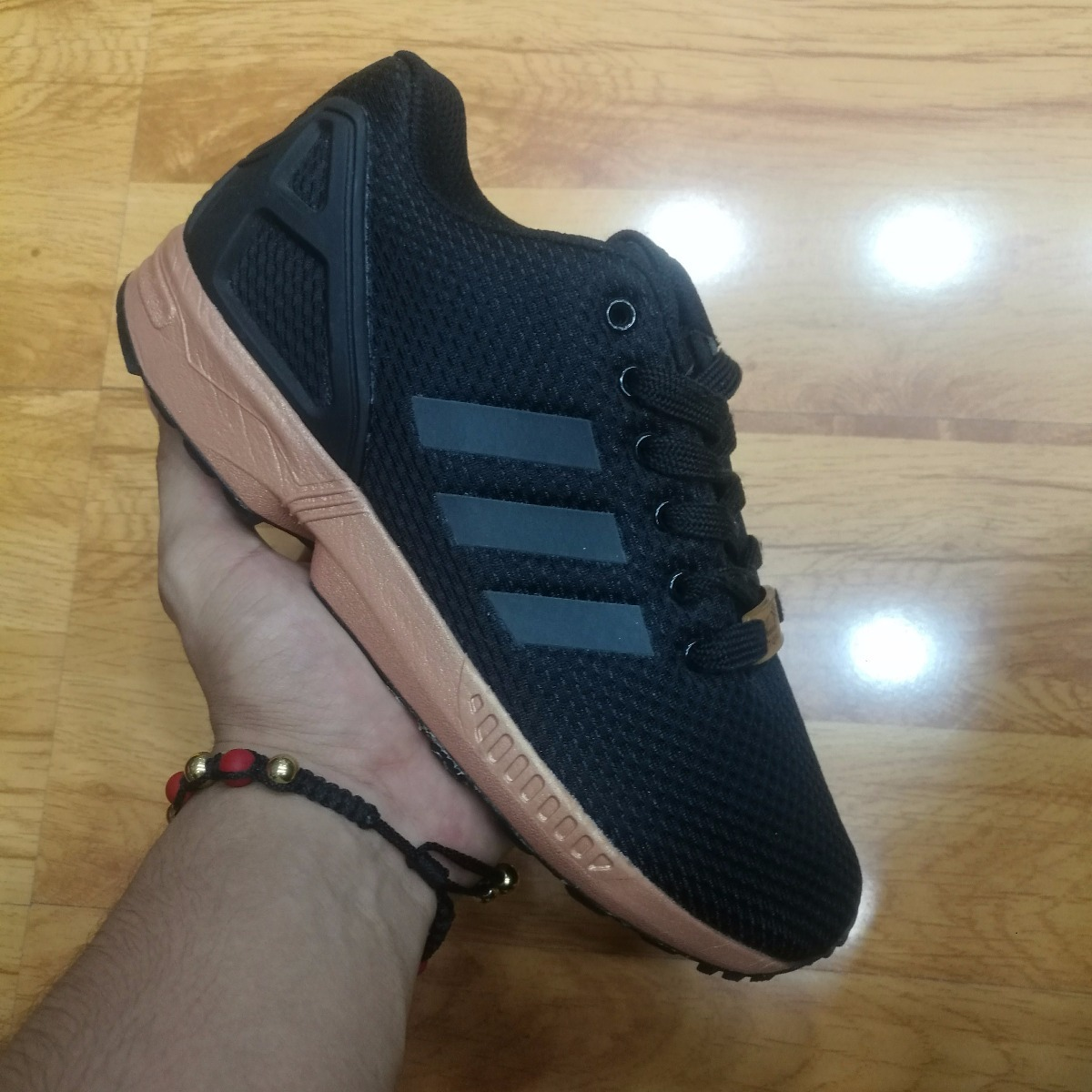 sports shoes dd5c6 8e199 Med Black Zx Sko Adidas Gull Woman Flux BxISS1p