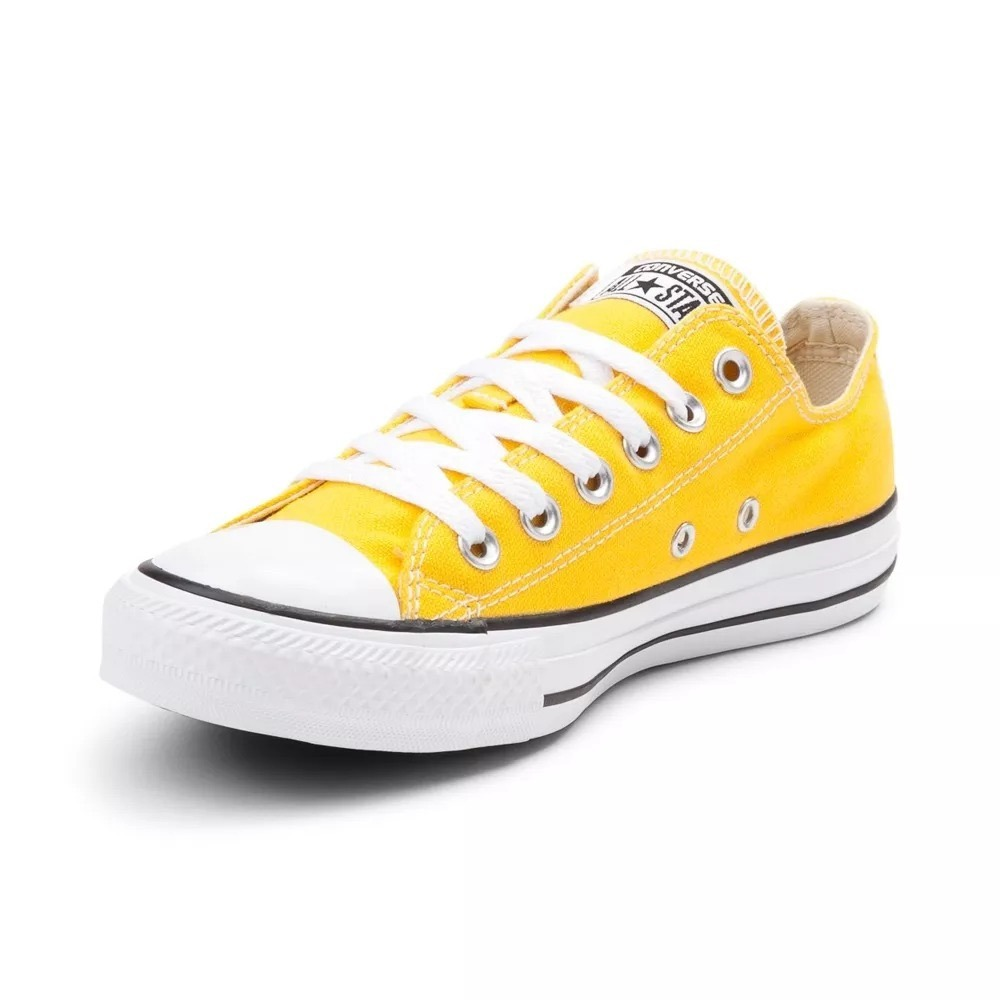 zapatillas converse all star amarillas