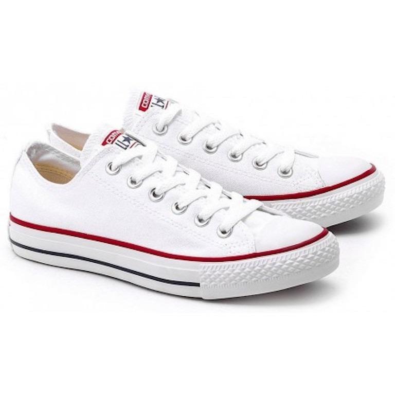 a30861dc7 Tenis Zapatillas Converse Clásicas All Star Blancas Mujer ...