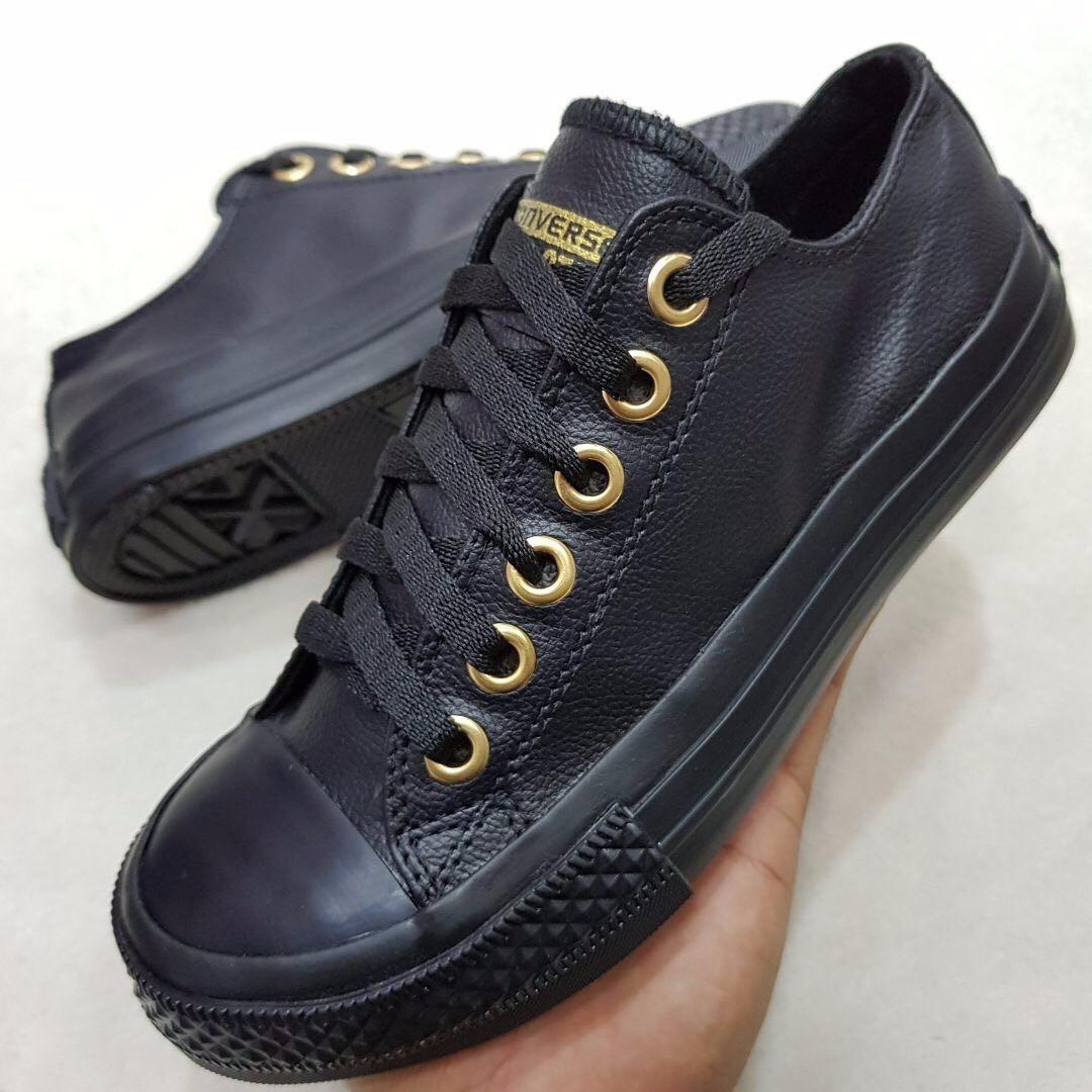 closeout zapatillas converse cuero mujer 1e59a 08adf