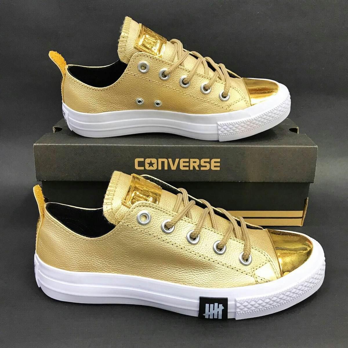 688d03a1 Tenis Zapatillas Converse Dorados Dama - $ 165.000 en Mercado Libre