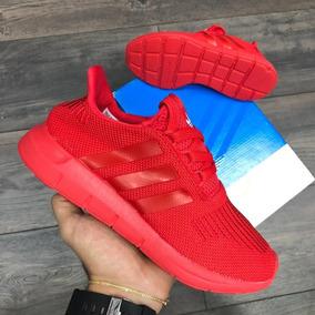 zapatillas adidas mujer rojas
